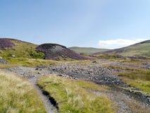 Der alte Greenside Bergbaubereich, See-Bezirk Lizenzfreies Stockfoto