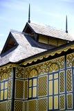 Der alte hölzerne Palast des Sultans von Perak Lizenzfreies Stockbild