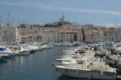 Der alte Hafen, Boote, Marseille, Frankreich Lizenzfreie Stockbilder