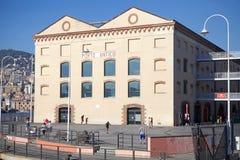 Der alte Hafen von Genua, Italien Stockfotografie