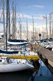 Der alte Hafen von La Cala Lizenzfreie Stockfotografie