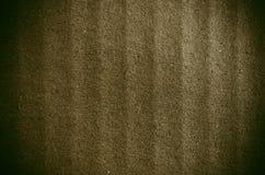 Der alte Hintergrund des braunen Papiers Stockfotografie