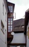 Der alte Hinterhof Lizenzfreie Stockbilder