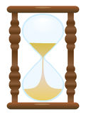 Der alte Hourglass lizenzfreie abbildung