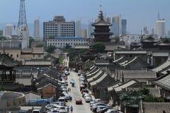 Der alte Hutong-Bezirk von Datong Stockfoto