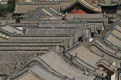 Der alte Hutong-Bezirk von Datong Lizenzfreies Stockfoto