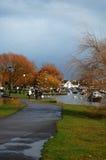 Der alte Kai in Christchurch, Dorset, Großbritannien Lizenzfreie Stockfotos