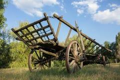 Der alte Kampfwagen Lizenzfreies Stockbild