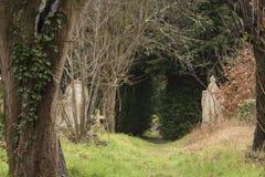 Der alte Kirchhof auf Southampton-Common stockfotos