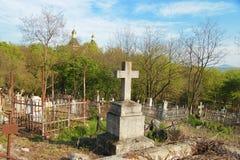 Der alte Kirchhof Historisches Teil von Pyatigorsk Lizenzfreie Stockfotografie