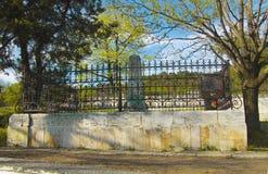 Der alte Kirchhof Historisches Teil von Pyatigorsk Stockbild
