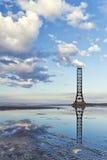 Der alte Leuchtturm lizenzfreies stockbild