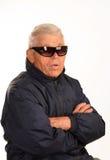 Der alte Mafiachef Lizenzfreie Stockfotos