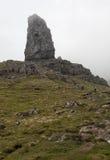 Der alte Mann von Storr auf der Insel von Skye in den Hochländern von Schottland Lizenzfreies Stockbild