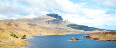 Der alte Mann von Storr Schottland Stockfotografie