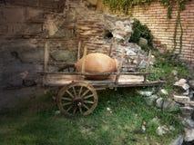 Der alte Ochsenkarren Lizenzfreie Stockbilder