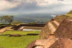 Der alte Palast in Sri Lanka Stockfotos