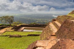 Der alte Palast in Sri Lanka Stockbild