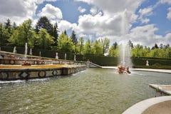 Der alte Park in der spanischen Stadt Lizenzfreies Stockfoto