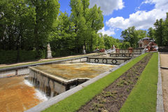 Der alte Park in der spanischen Stadt von Segovia Lizenzfreie Stockfotos
