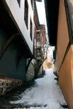 Der alte Plovdiv Stockbild
