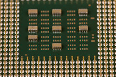 Der alte Prozessor Stockfotos