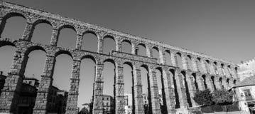 Der alte römische Aquädukt in Segovia Lizenzfreie Stockbilder