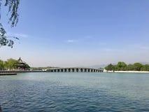 Der alte Sommer-Palast in Peking China Stockfotografie