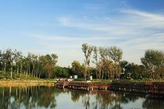 Der alte Sommer-Palast (Yuan Ming Yuan) Lizenzfreies Stockfoto