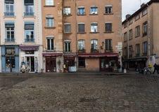 Der alte Stadt-Abschnitt von Lyon Lizenzfreie Stockfotografie
