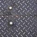 Der alte Stahlgehweg. Stockbilder