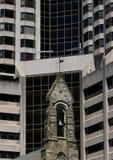 Der alte Steeple. Lizenzfreies Stockfoto