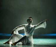 Der alte Tai Chi-Modern-Tanz Lizenzfreies Stockfoto