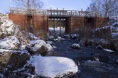 Der alte Teich Stockbild