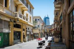 Der alte Teleshop in Haifa Lizenzfreie Stockbilder