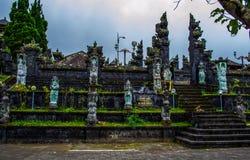 Der alte Tempel in Bali Stockbild