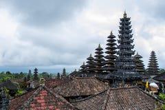 Der alte Tempel in Bali Stockfotografie