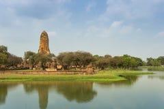 Der alte Tempel, Thailand Stockbild