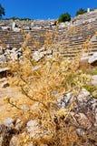 der alte Tempel und das Theater Lizenzfreie Stockfotografie