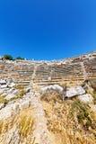 der alte Tempel und das Theater in den termessos Antalya Stockbilder