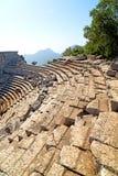 der alte Tempel und die termessos Antalya Stockfotografie