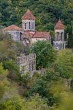 Der alte Tempel von Georgia Stockbilder