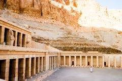 Der alte Tempel von Hatshepsut in Luxor, Ägypten Lizenzfreie Stockbilder