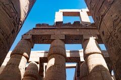 Der alte Tempel von Hatshepsut in Luxor, Ägypten Stockbild