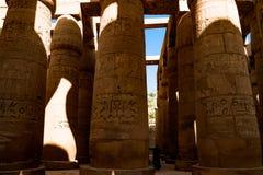 Der alte Tempel von Hatshepsut in Luxor, Ägypten Stockfotografie