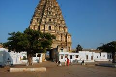 Der alte Tempel von Indien Stockbild