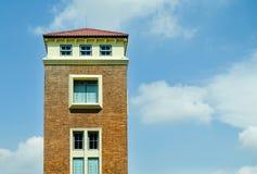 Der alte Turm Stockbild