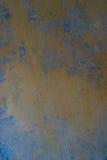 Der alte und alte Gips einer Wand Lizenzfreies Stockbild