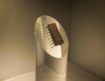Der alte und Weinlesecomputer-chip, Abschluss oben Lizenzfreies Stockfoto