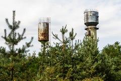 Der alte Wasserturm Stockbilder